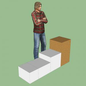 Extra large packing box