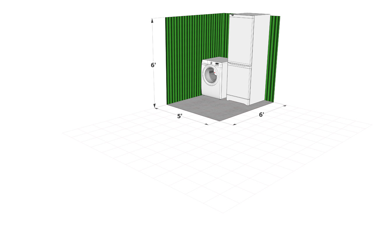 Dorking Self Store 30 sqft Storage Unit